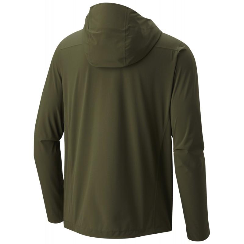 veste imperm able homme 2 5l stretch ozonic jacket vert. Black Bedroom Furniture Sets. Home Design Ideas