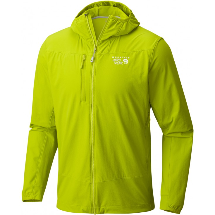 Veste softshell homme SUPER CHOCKSTONE HOODED Jacket Fresh Bud Mountain Hardwear