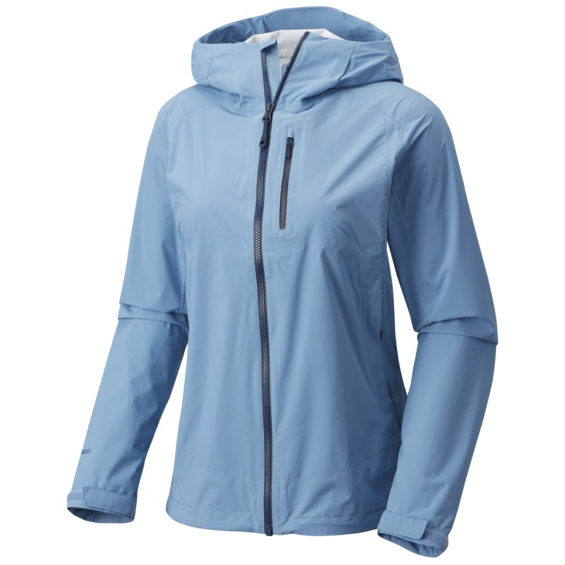 Veste imperméable femme 2.5L Stretch THUNDERSHADOW Jacket Storm Cloud  Mountain Hardwear bdf460f1078e