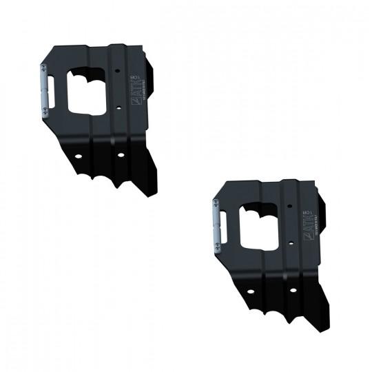 Couteaux 108mm noir ATK Bindings
