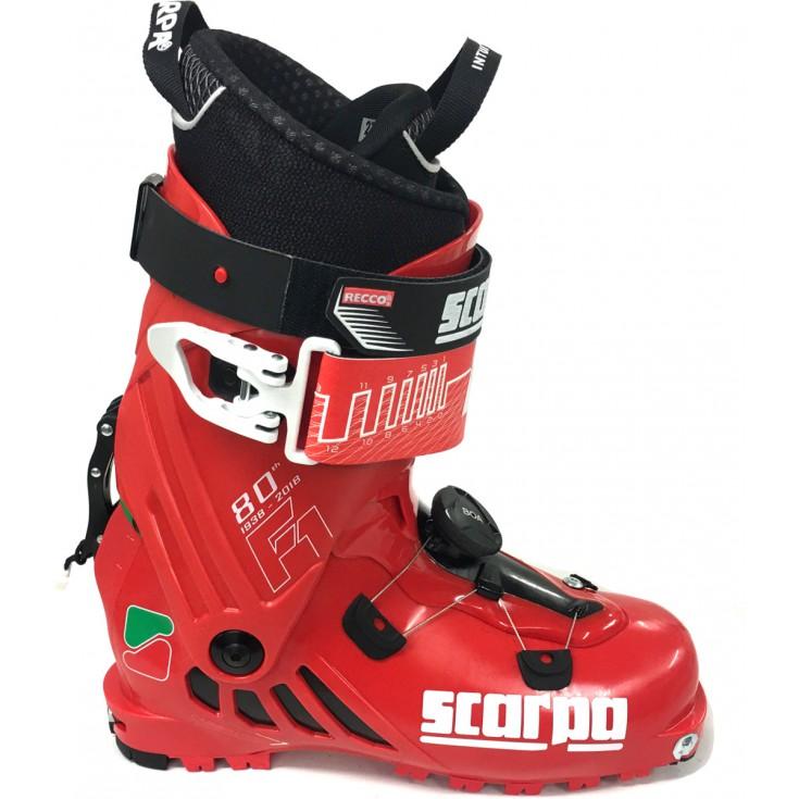 Chaussure ski de rando homme F80 Scarpa Série Limitée