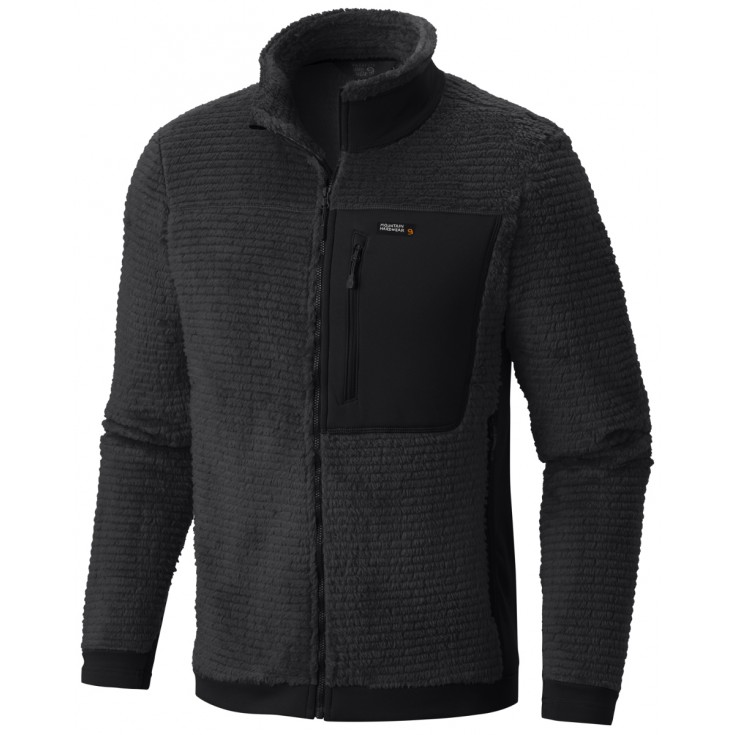 Polaire chaude homme Monkey Man Jacket noire Mountain Hardwear