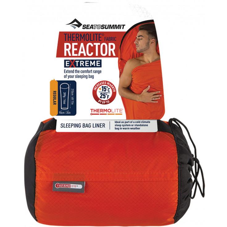 Drap de sac Thermolite Reactor Extreme +15 SeaToSummit