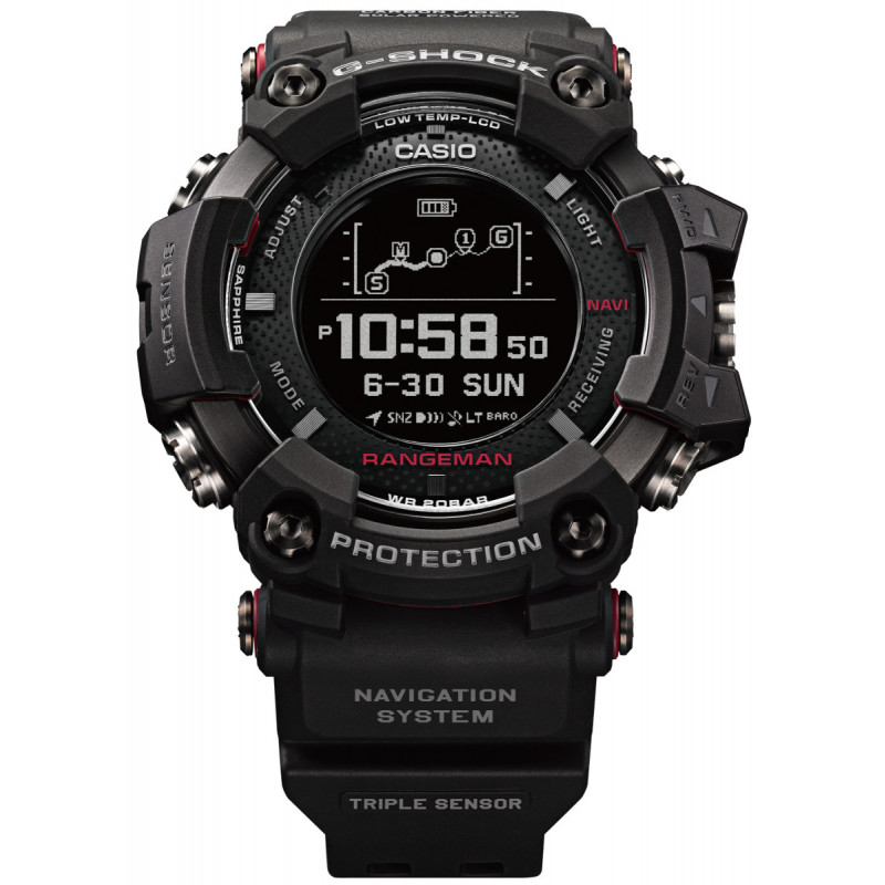 montre altim tre gps casio rangeman gpr b1000 1er g shock montania sport. Black Bedroom Furniture Sets. Home Design Ideas