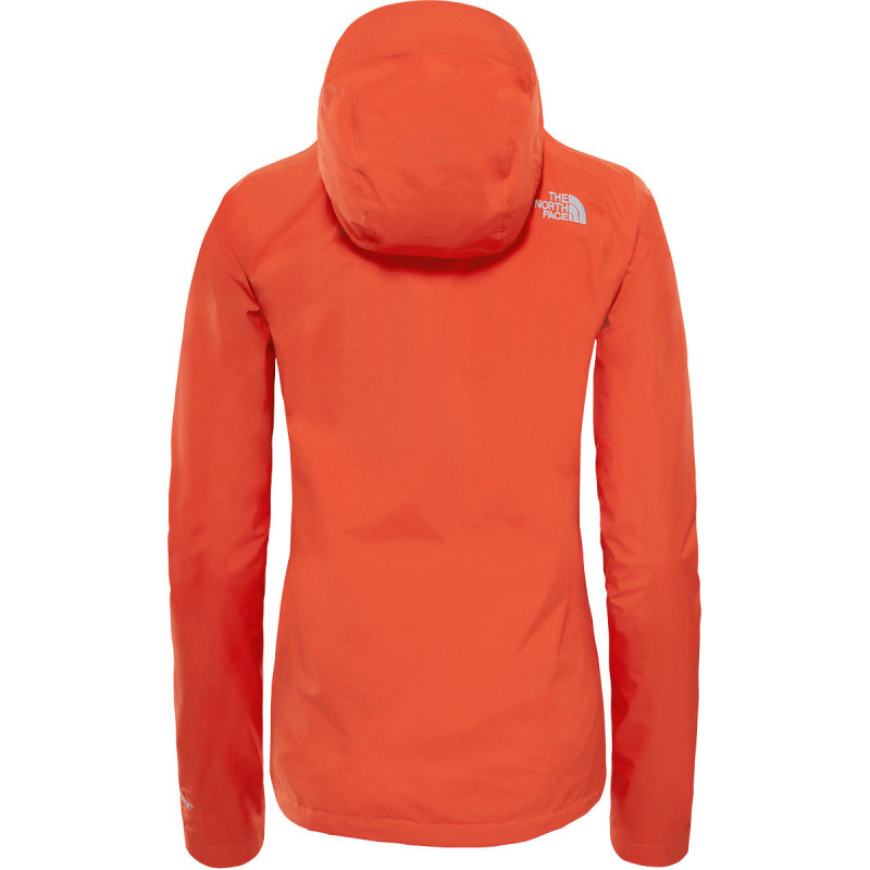 veste gore tex paclite femme dryzzle jacket orange the. Black Bedroom Furniture Sets. Home Design Ideas