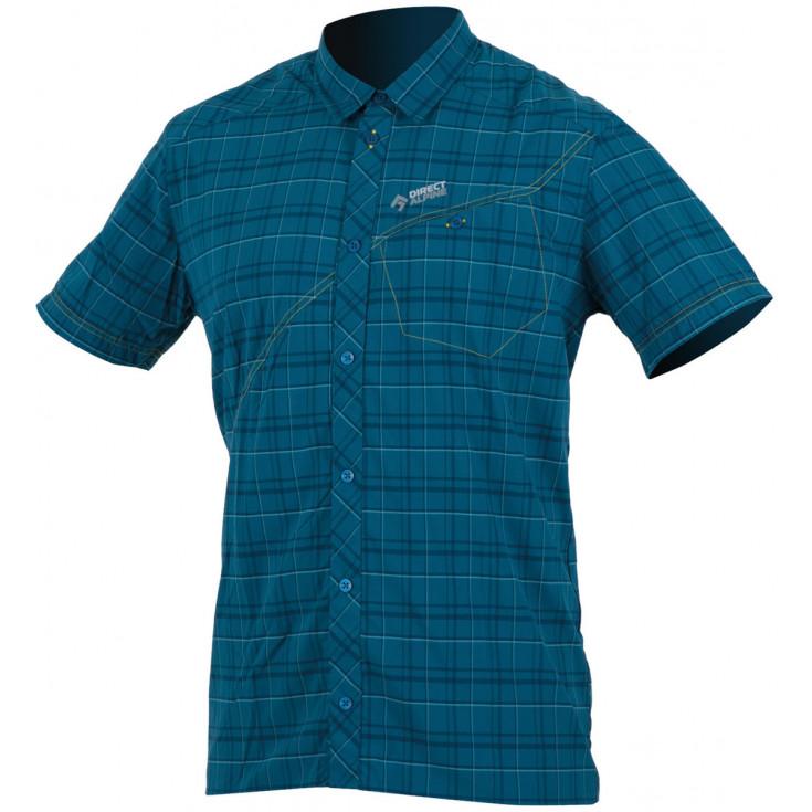 Chemise de randonnée homme RAY 3.0 petrol-blue Directalpine