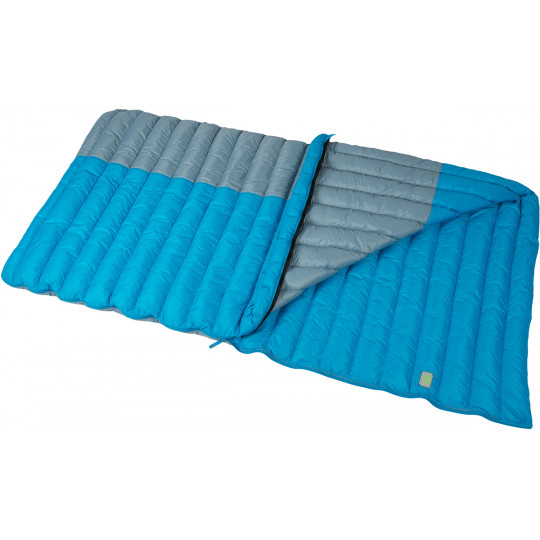 Sac de couchage plume COUETTE TONKA 430 REG gris-bleu 190 SirJoseph