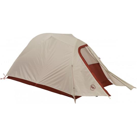 Tente de randonnée C BAR 2 rouge-gris Big Agnès