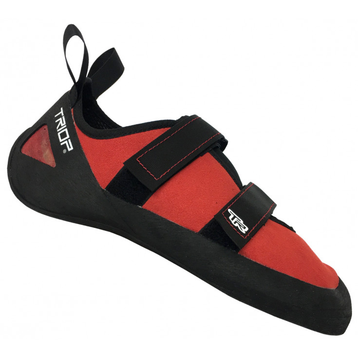 Chausson escalade SPLASH TR VELCRO rouge Triop