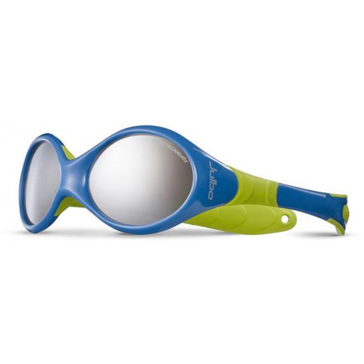 Lunettes de soleil enfant LOOPING 2 bleu-anis SP4 Julbo - Montania Sport 74240c5589d0