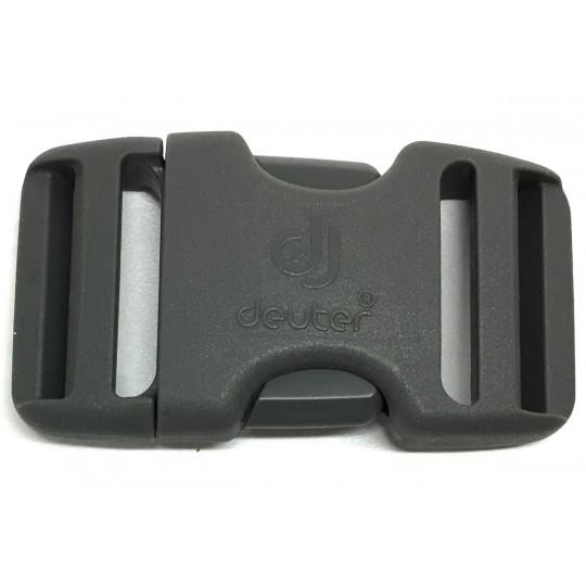 Boucle sac à dos 2 double 30mm DUALSTEALTH grise Deuter