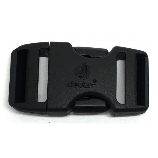 Boucle sac à dos 2 double 25mm DUALSTEALTH noire Deuter