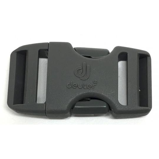Boucle sac à dos 2 double 25mm DUALSTEALTH gris Deuter