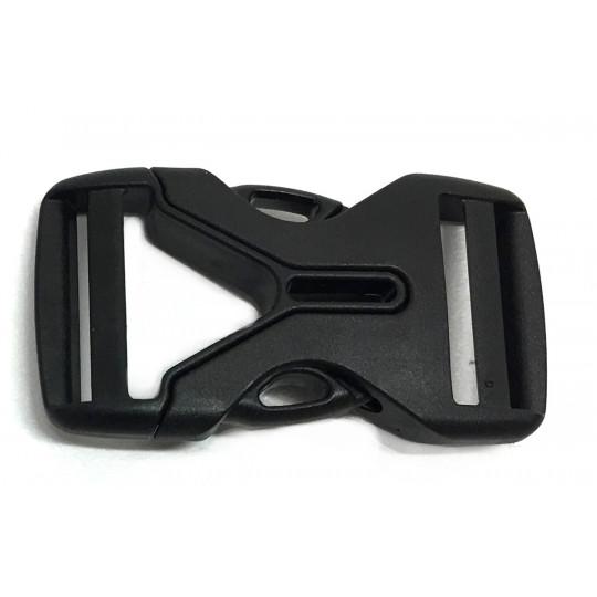 Boucle sac à dos 2 double 25mm LIGHT noire Deuter