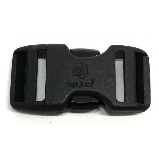 Boucle sac à dos 2 double 20mm DUALSTEALTH noir Deuter