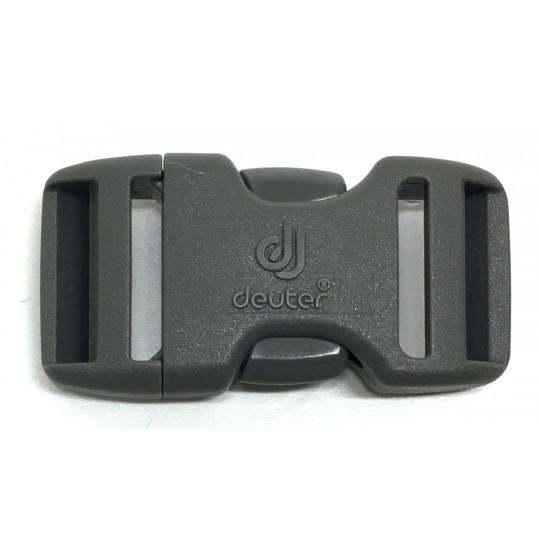 Boucle sac à dos 2 double 20mm DUALSTEALTH gris Deuter