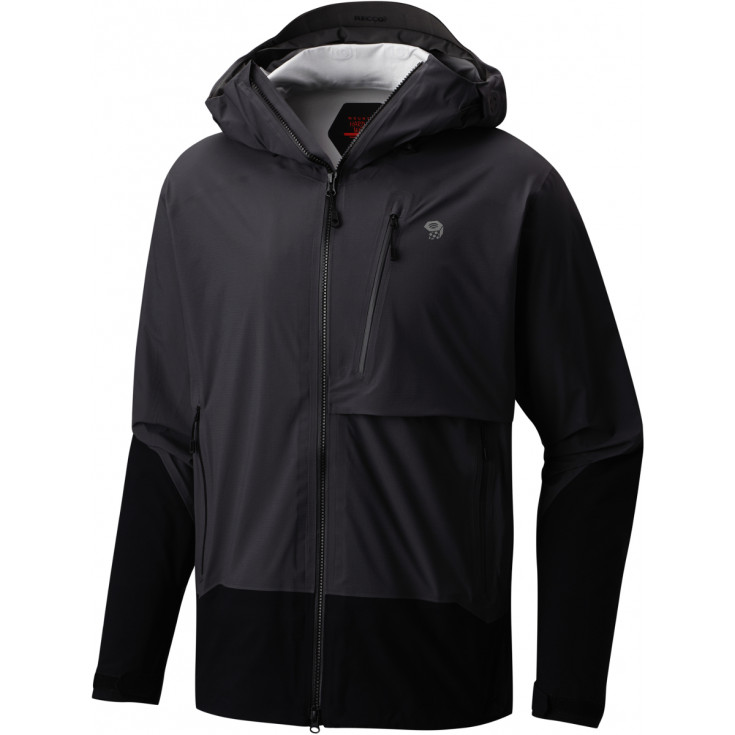 Veste imperméable homme 3L SUPERFORMA JACKET Shark-Black Mountain Hardwear