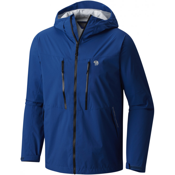 Veste imperméable homme 2.5L Stretch THUNDERSHADOW Jacket Nightfall-Blue Mountain Hardwear