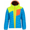 Doudoune à capuche homme CONQUEST DOWN JACKET Blue-Apple La Sportiva