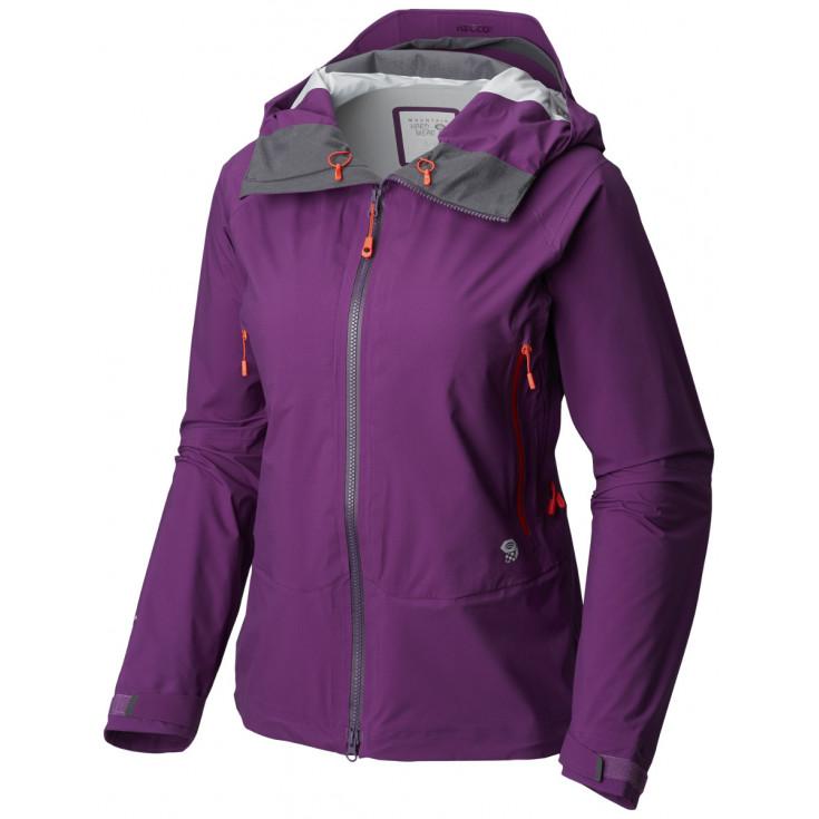 Veste imperméable femme 3L SUPERFORMA JACKET W Cosmos-Purple Mountain Hardwear