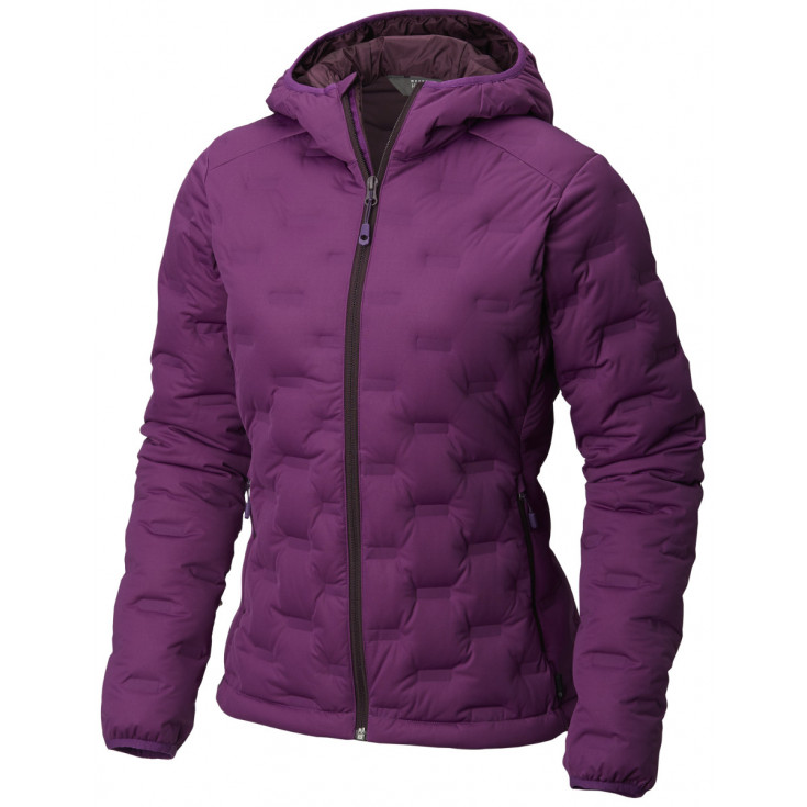 Doudoune à capuche femme StretchDown DS Hooded Jacket W Cosmos Purple Mountain Hardwear