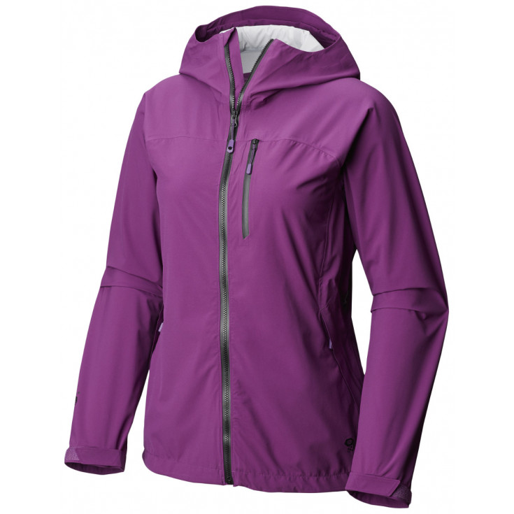 Veste imperméable femme 2.5L Stretch Ozonic Jacket W Cosmos Purple Mountain Hardwear