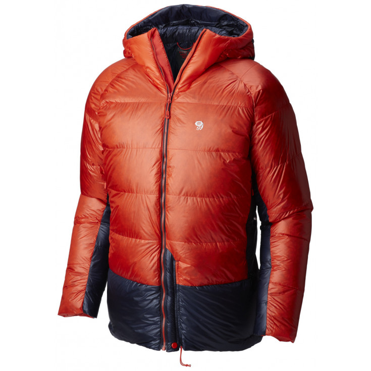 Doudoune à capuche homme PHANTOM HOODED DOWN JKT Fiery-Red Mountain Hardwear