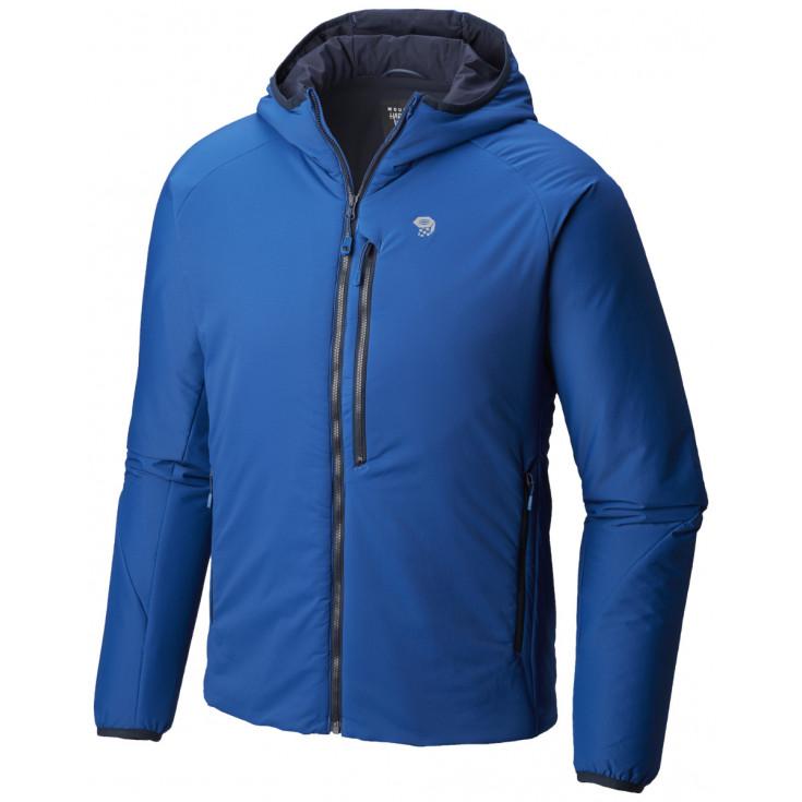 Doudoune à capuche Primaloft homme KOR STRATA HOODY Nightfall-Blue Mountain Hardwear