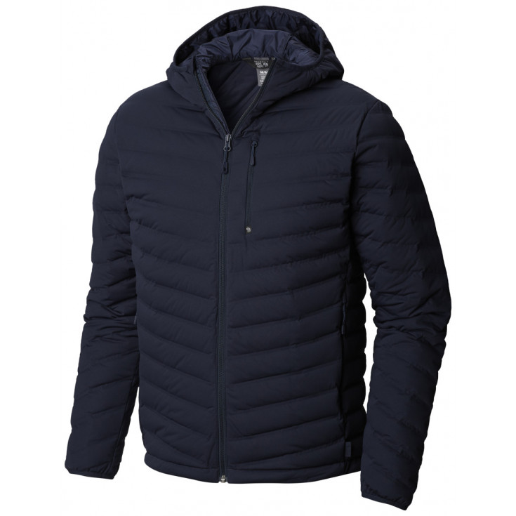 Doudoune à capuche homme STRETCHDOWN HOODED JKT Dark-Zinc Mountain Hardwear