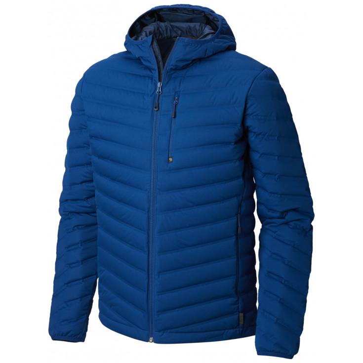 Doudoune à capuche homme STRETCHDOWN HOODED JKT NIghtfall-Blue Mountain Hardwear