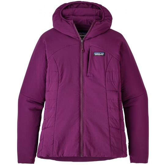 f5b5d84b7b5 Doudoune à capuche synthétique femme NANO-AIR HOODY Geode-Purple Patagonia