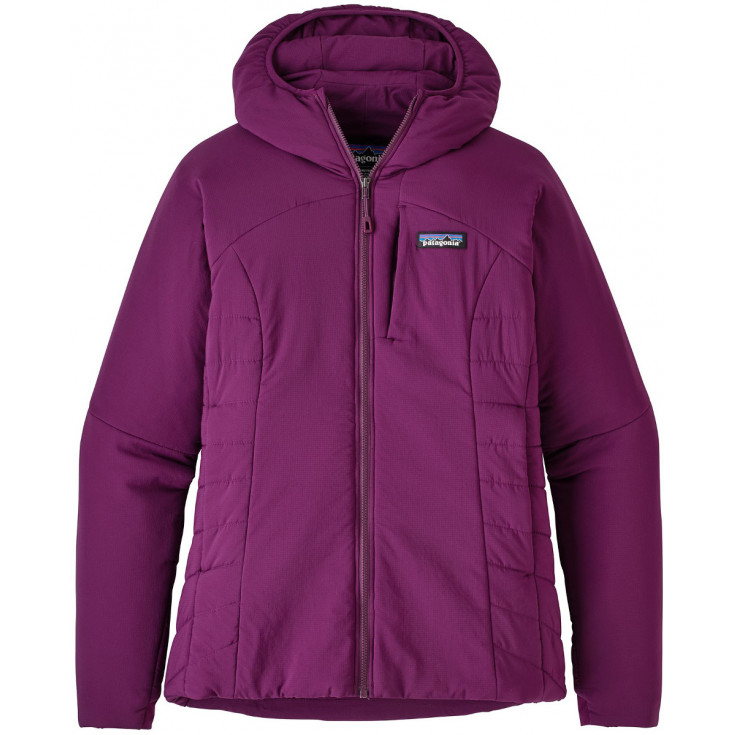 offer discounts half price hot new products Doudoune à capuche synthétique femme NANO-AIR HOODY Geode-Purple Patagonia