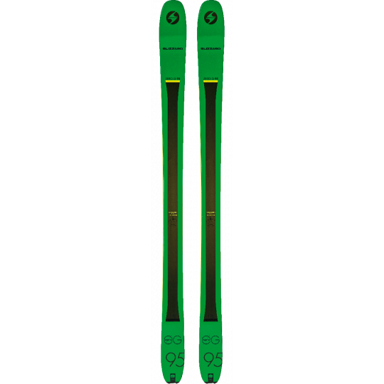 Ski de rando ZERO G 95 Blizzard Green 2019