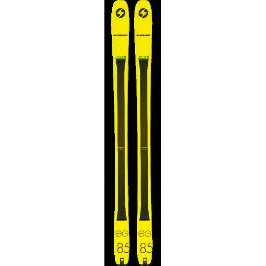 Ski de rando ZERO G 85 Blizzard Yellow 2019