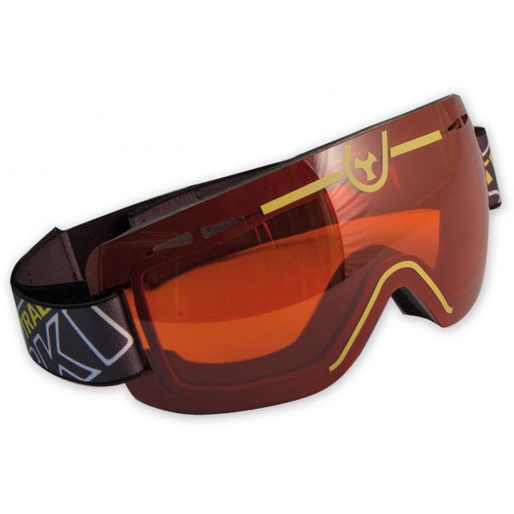 Masque ski de rando ventilé MAXIMO 2 orange Skitrab - Montania Sport 74552b28ee42