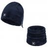 Bonnet tour de cou COLLAR POLAR CAP bleu-nuit Montura
