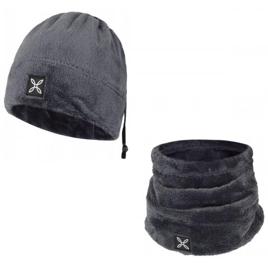 Bonnet tour de cou COLLAR POLAR CAP noir Montura