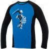 Tee-shirt homme FURRY LONG TEE bleu DirectAlpine