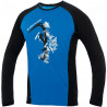 Tee-shirt homme FURRY LONG TEE bleu DirectAlpine