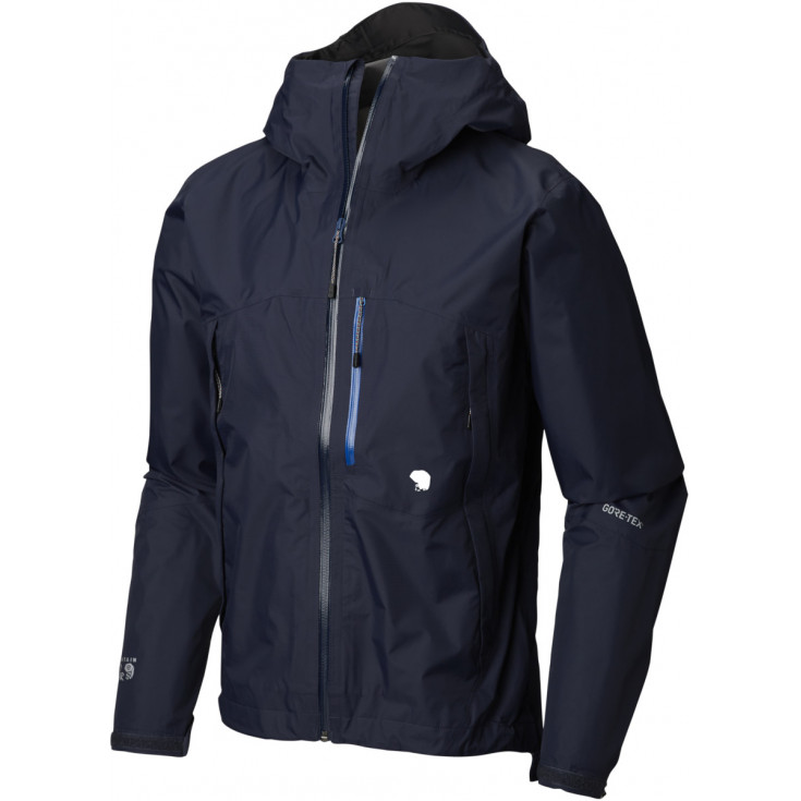 Veste GORE-TEX PACLITE homme 2.5L Exposure Jacket Dark-Zinc Mountain Hardwear