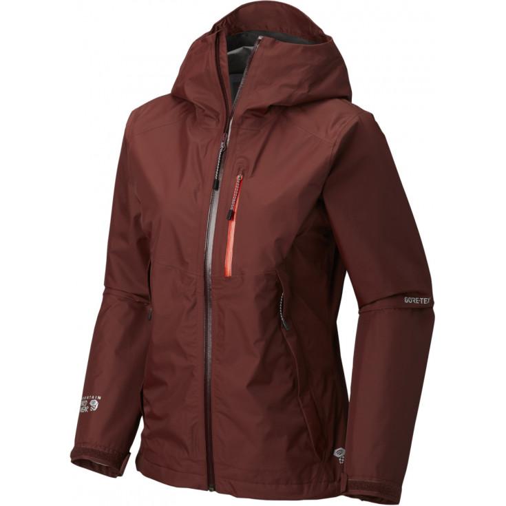Veste GORE-TEX PACLITE femme 2.5L Exposure Jacket Dark-Umber Mountain Hardwear