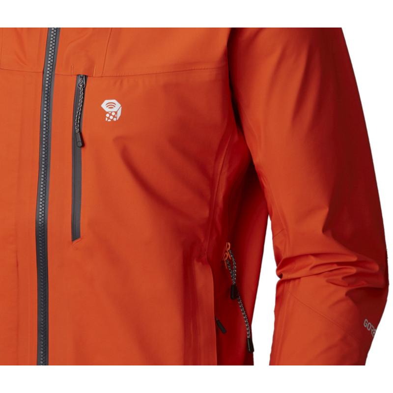 Homme Exposure Orange 3l Tex Veste Gore Jacket State Mountain Active Hwnq4nBva7