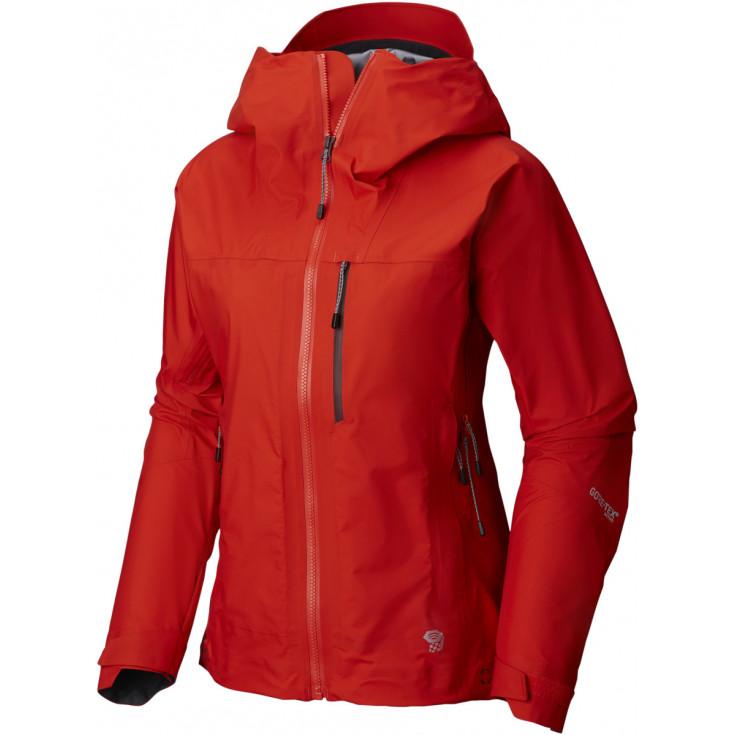 Veste GORE-TEX ACTIVE femme 3L Exposure Jacket Fiery-Red Mountain Hardwear