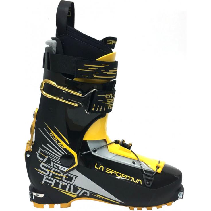 Chaussure ski de rando SOLAR Black-Yellow La Sportiva F19-20
