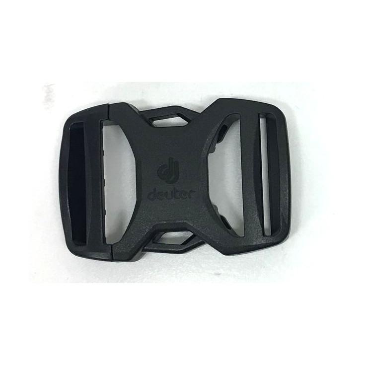 Boucle sac à dos 2 double 30mm NIFCO noire Deuter