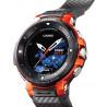 Montre altimètre GPS CASIO WSD-F30-RGBAE orange PRO TREK SMART