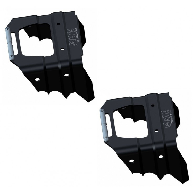 Couteaux 91mm noir ATK Bindings