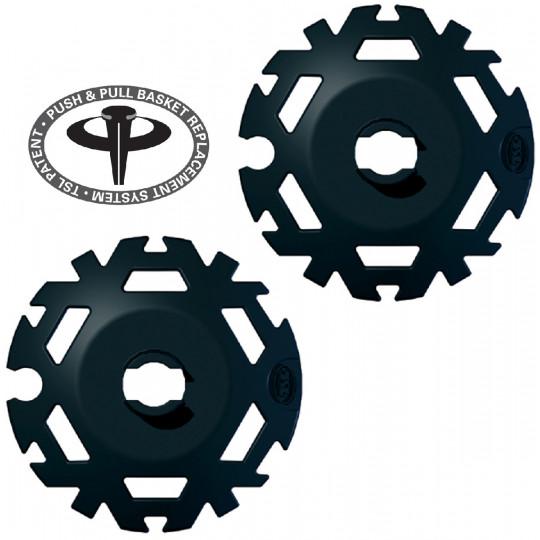 Kit rondelles Push&Pull D95 noir TSL (la paire)