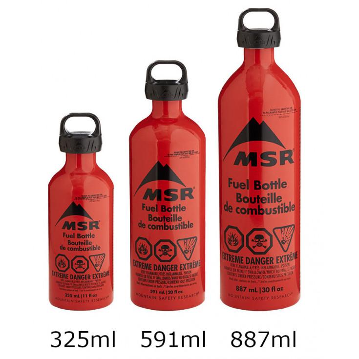 Bouteille de combustible FUEL BOTTLE 591ml rouge MSR GEAR