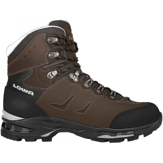 Chaussure de randonnée cuir cuir homme CAMINO LL dark grey-black Lowa